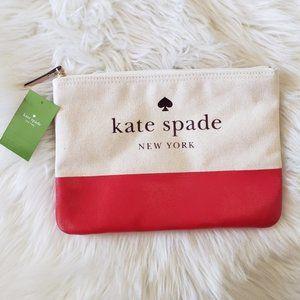 Kate Spade Canvas Ash Street Gia Clutch